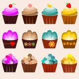Pocas tortas 10 ilustración del vector