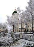 Pochaev Lavra Arkivfoto