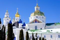 Pochaev-lavra Dormition Kathedrale haube stockfotografie