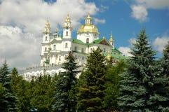 Pochayiv Lavra Imagem de Stock Royalty Free