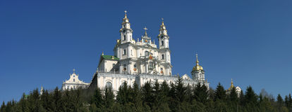 Pochayiv Lavra Royalty Free Stock Images