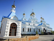 Pochayiv Lavra Ortodoksalny monaster, Ukraina fotografia stock