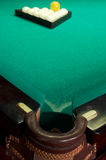 Poche de billard photo libre de droits