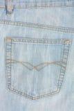 Poche de jeans Photographie stock libre de droits