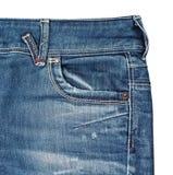 Poche de jeans Photo libre de droits