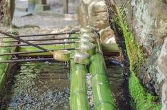 Poche de l'eau au pavillon de purification photographie stock
