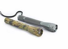 poche de lampes-torches Photographie stock