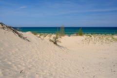 Poche dune del punto del nero Fotografie Stock Libere da Diritti