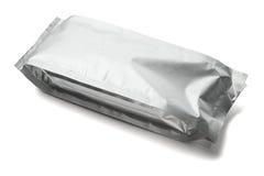 Poche en aluminium scellée photo stock