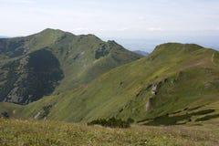 Poche montagne di Fatra Immagine Stock