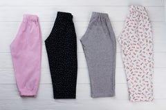 Poche paia dei pantaloni Fotografia Stock Libera da Diritti