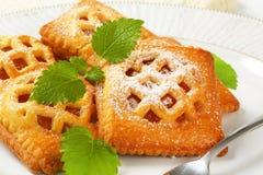 Poche torte dell'albicocca fotografie stock libere da diritti