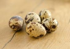 Poche uova di quaglia Fotografia Stock Libera da Diritti