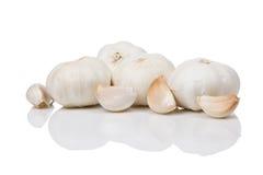 Pochi chiodi di garofano di aglio Immagini Stock Libere da Diritti
