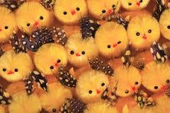 Pochi pulcini di Pasqua Fotografie Stock Libere da Diritti