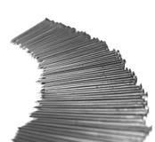 Pochi rivestono di ferro i chiodi Fotografia Stock