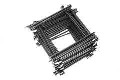 Pochi rivestono di ferro i chiodi Immagine Stock Libera da Diritti