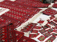 Pochi tappeti handmade Fotografie Stock