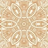 Pochodzenie etniczne ornamentacyjny wzór Zdjęcia Stock