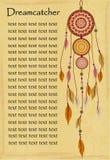 Pochodzenie etniczne z dreamcatcher Fotografia Stock