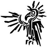 Pochoir exotique de graphique d'oiseau Photo libre de droits