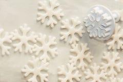 Pochoir pour la pâte de sucre photographie stock libre de droits