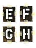 Pochoirs Images libres de droits