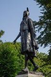 Pochontas Statue公主 免版税图库摄影