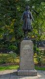 Pochontas Statue公主 库存图片