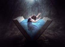 Pochwała w deszczu Fotografia Royalty Free