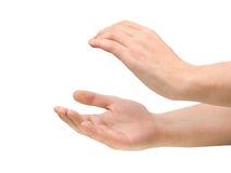 pochwalić ręce Zdjęcie Stock