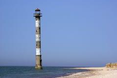 pochylona kiipsaare latarnia morska Fotografia Stock