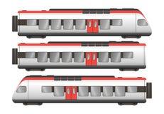 Pociągów pasażerskich furgony zdjęcie stock