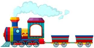 pociąg ilustracja wektor