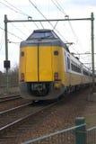 pociąg holenderskiego żółty Obrazy Royalty Free