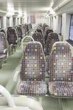 Pociąg Indoors Obraz Royalty Free