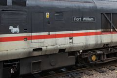Pociąg od fortu William zdjęcia royalty free