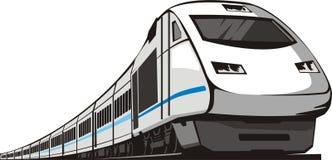 pociąg pasażerski ilustracja wektor