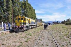 Pociąg pasażerski Zdjęcia Royalty Free