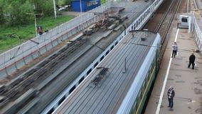 Pociąg pasażerski zdjęcie wideo