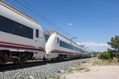 Pociąg pasażerski Obrazy Stock