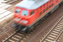 pociąg pasażerski Zdjęcie Stock
