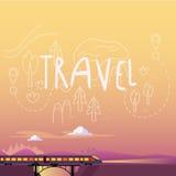 pociąg plażowi Formentera wyspy kobiety potomstwa również zwrócić corel ilustracji wektora Zdjęcie Royalty Free