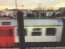 pociąg przechodzącego fotografia royalty free