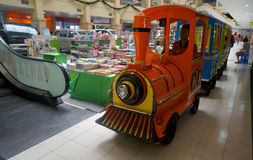 Pociąg przejażdżki Obrazy Royalty Free