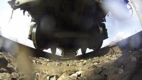 Pociąg przejażdżki na poręczach zbiory