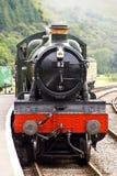 pociąg przybyć na posterunek Obrazy Royalty Free