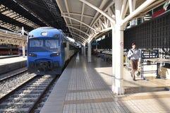 Pociąg 'TerraSur' firma zdjęcie stock