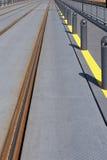 pociąg toru wózka Fotografia Stock