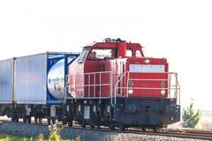 Pociąg Towarowy zdjęcie royalty free
